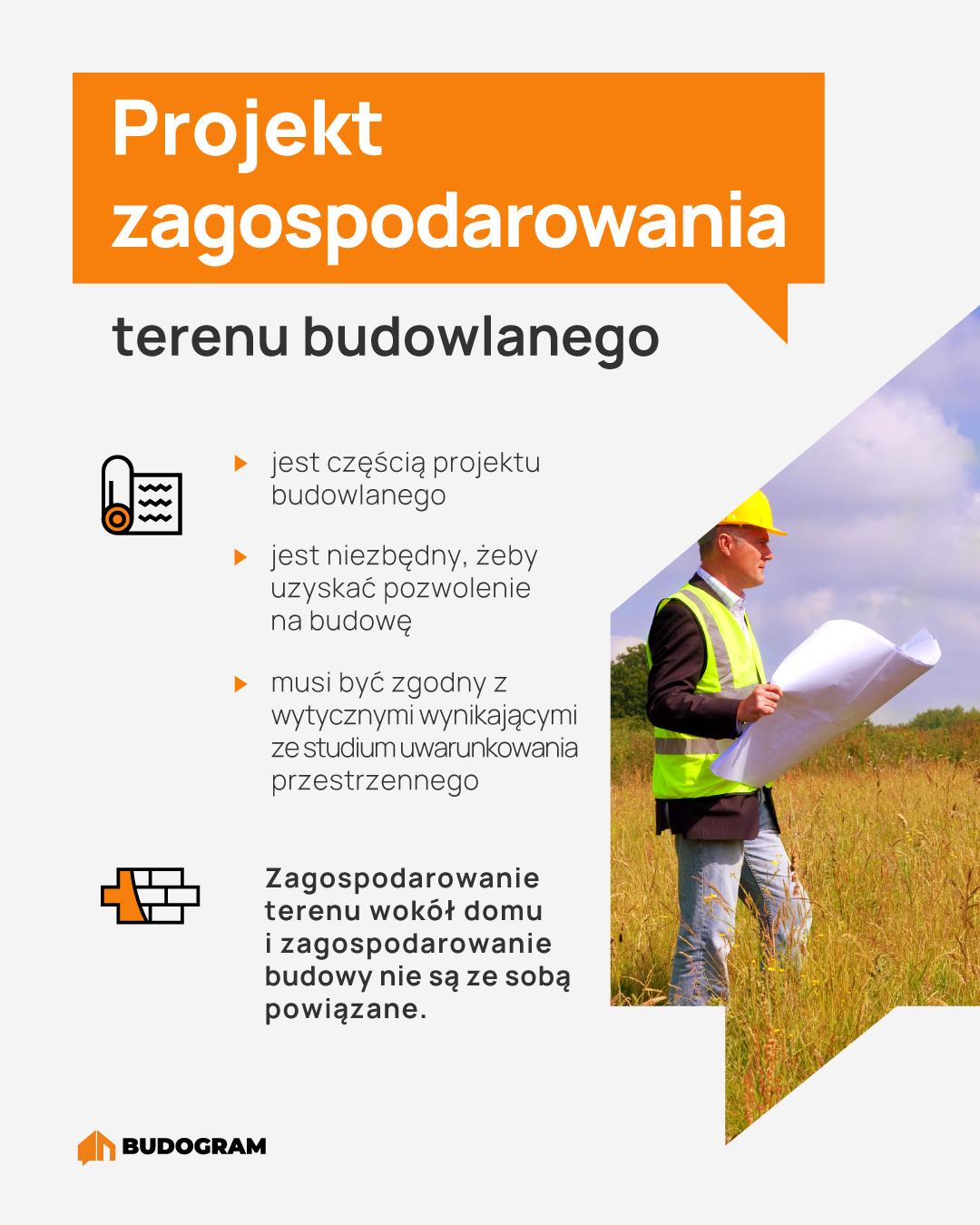 projekt zagospodarowania terenu budowlanego