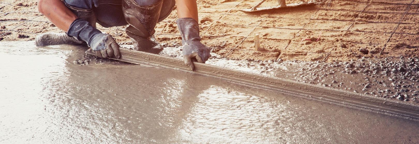 Wylewka betonowa tworzy równe podłoże