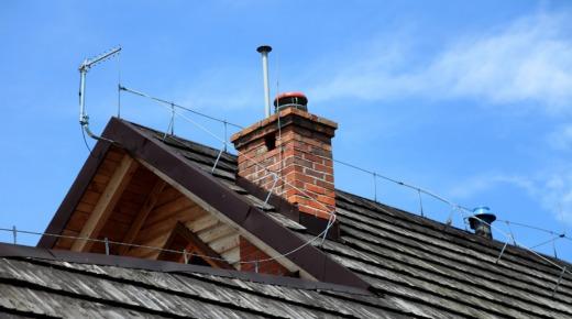 Piorunochron na dachu