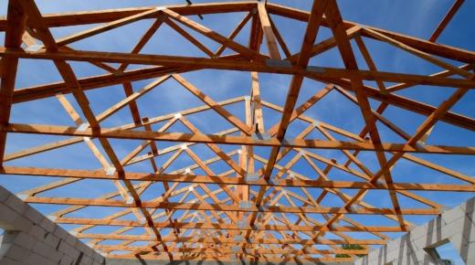Murłata na więźbie dachowej