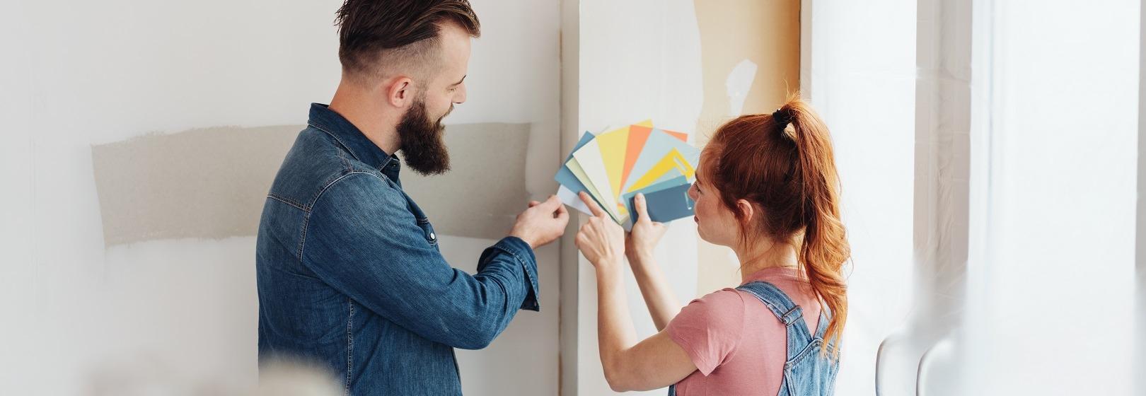 przygotowanie do malowania ścian