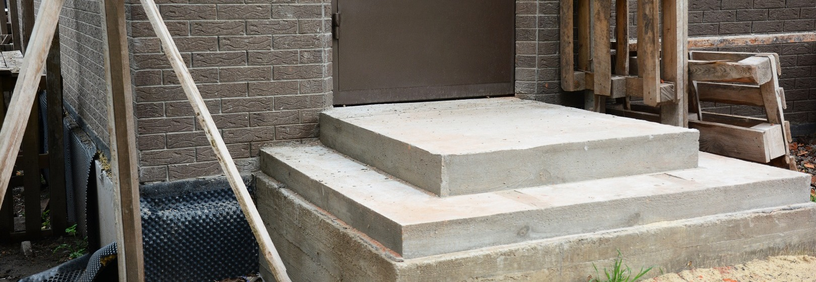 Fundament pod schody zewnętrzne oraz wewnętrzne