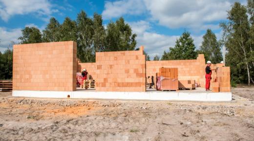 Ściana jednowarstowa