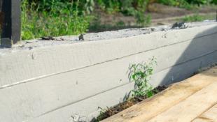 Fundament pod ogrodzenie