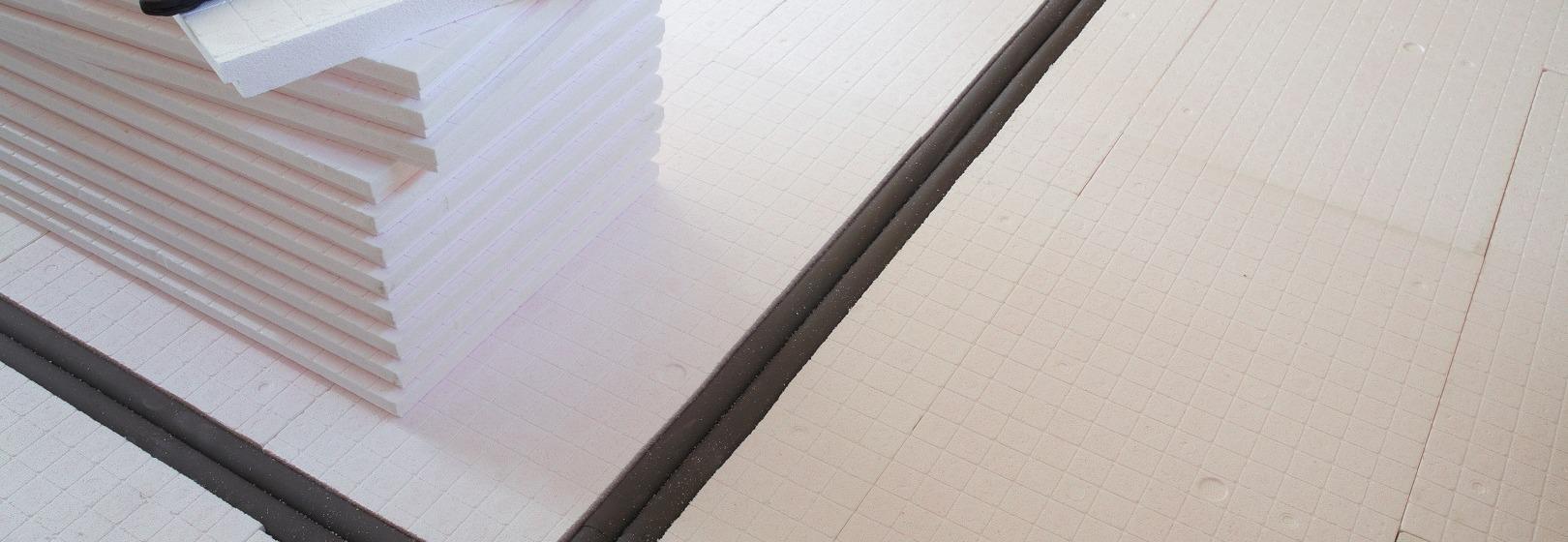Ocieplenie podłogi na gruncie styropianem