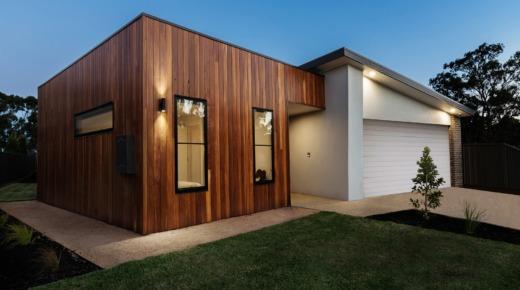 nowoczesny dom kostka z garażem